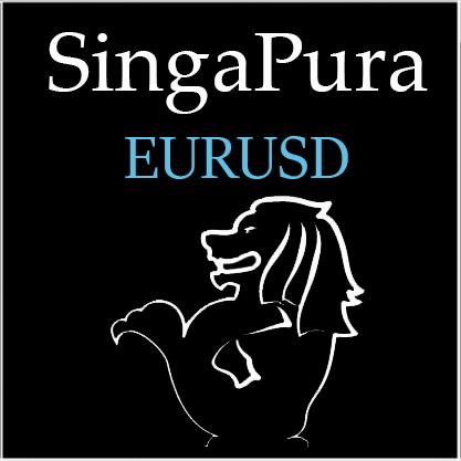 SingaPura EURUSD 【固定ロットとマーチンゲールを選択可能!】