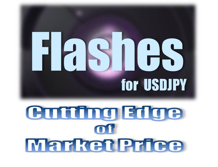 Flashes for USDJPY【TRADERS-pro:トレプロ】